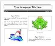 Google Docs Newspaper Templates   Westlake Girls High School Tech Wizards